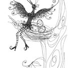 Black Bird Sing by Pania  Molloy