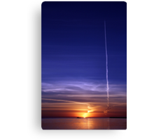 Sunrise. Canvas Print