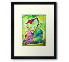 Alternative Valentine Framed Print