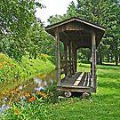 Volant Covered Bridge by Monnie Ryan