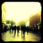 On their way to christmas shopping heaven... by Ursula Rodgers