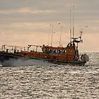 The Newcastle (county Down) Lifeboat by Jon Lees