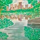 View from oak bridge Central Park by Felix  Zapata