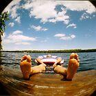Fisheye Floating by Christine Corrigan