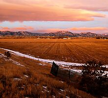 Rocky Mountains At Sunrise by Pamela Hubbard