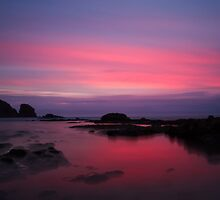 Last Light at Woolamai by Andrew Widdowson