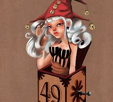 Girl 49 | Girl in a box by Erica Rosario