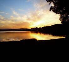 Warners Bay, Sunset, 2007 by rococodreams