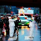 2010 Winter Olympics Torch Relay by Carol Clifford