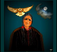 Owl Woman by mcyoung
