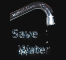 Save water - dripping tap by Bernie Stronner