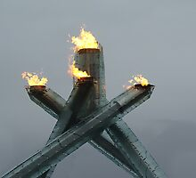 Olympic Cauldron 2010 - II by RobertCharles