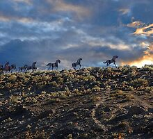 Wild Horse Monument  by DiamondCactus