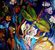 Dragon Fly Paradisio by Barbara Sparhawk