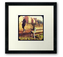 Walk on By Framed Print