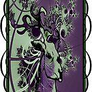 graffitti fractal buck  by geot