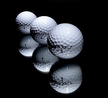 3 Golf Balls by Shannon Rogers