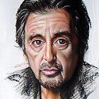 Al Pacino by Hidemi Tada