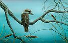 Kookaburra & Mantis by Christopher Pope