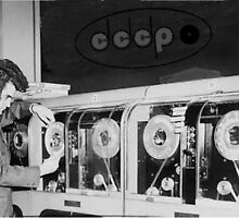 CCCP invent the multi track tape loop by MarysBoyChild