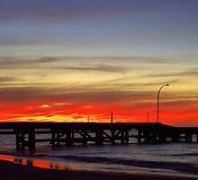 Jurien Bay Jetty Sunset by Daniel Fitzgerald