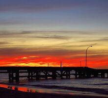 Jurien Bay Jetty Sunset by Daniel Fitzgerald