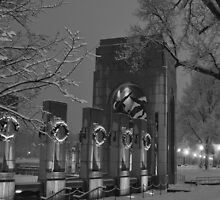 The Atlantic Theater-The World War II Memorial - Washington D.C. by Matsumoto
