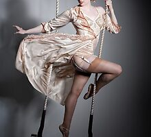 Burlesque Trapeze by Greg Desiatov