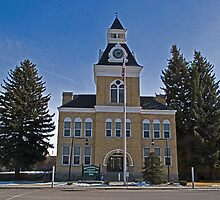 Beaverhead County (Montana) Court House by Bryan D. Spellman