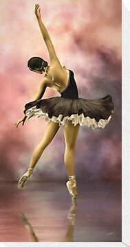 The Ballerina * Wall Art by AnaCBStudio