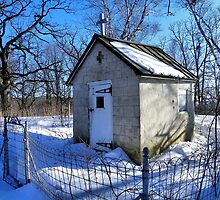 St. Mary of the Oaks Chapel (Est. 1857) by wiscbackroadz