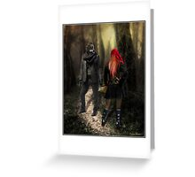 Little Red Riding Hood (2010) Greeting Card