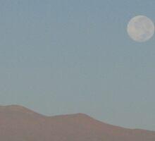 Full Moon over Mauna Kea by ronholiday