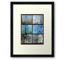 FROSTED WINDOWS  Framed Print