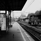 Empty Station by DarrynFisher
