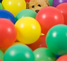 Ted overwhelmed in the ball pool by Sandra O'Connor