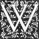 "Art Nouveau ""W"" (William Morris inspired) by Donnahuntriss"