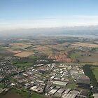 Edinburgh from the Air by AleFest