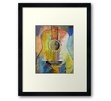 Guitar Melodies Framed Print