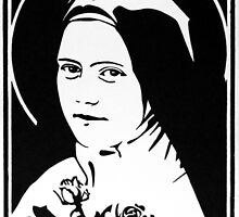 St Therese of the Child Jesus by Peter Brandt