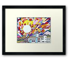 Enlightenment at the Institution Framed Print