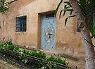 Door and Window of Kasbah des Oudaias by Lucinda Walter