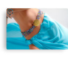 A Belly Dance Canvas Print