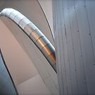 Ribbons of Steel - Art Gallery of Alberta by Roxanne Persson