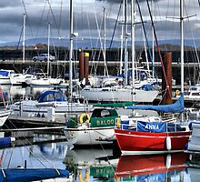 Fleetwood Harbour Marina by JacquiK