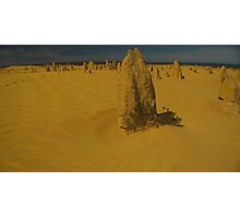Pinnacles Cervantes WA Photographic Print