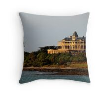 Grand Pacific Hotel,Great Ocean Road,Lorne Throw Pillow