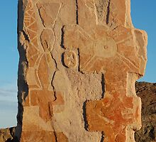 """Sculptures and spirits shared - Living desert Broken Hill"" by Leonah"
