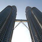 """""""Twin Towers - Kuala Lumpa"""" by Leonah"""
