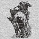 rodeo rider by dirtthirsty
